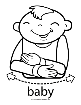 Baby Sign Teachers Printable