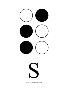 Braille S Teachers Printable