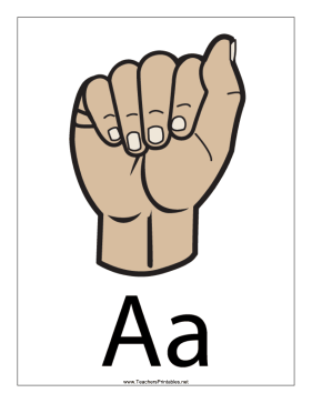 Letter A-Filled-With Label Teachers Printable