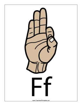 Letter F-Filled-With Label Teachers Printable