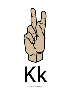 Letter K-Filled-With Label Teachers Printable