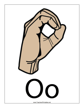 Letter O-Filled-With Label Teachers Printable