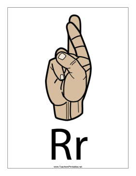 Letter R-Filled-With Label Teachers Printable