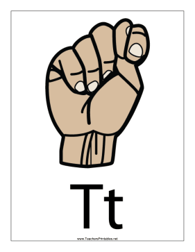 Letter T-Filled-With Label Teachers Printable
