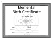 Elemental Birth