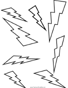 Lightning Shape Templates