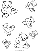 Teddy Bear Templates