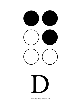 photo about Braille Printable identify Braille Printables