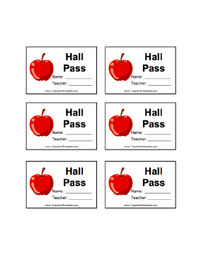 graphic about Hall Passes Printable named Corridor P With Status