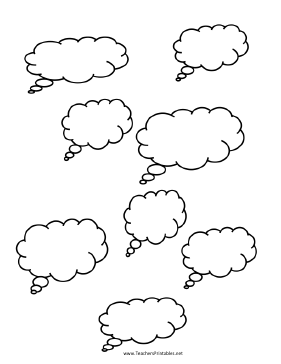 Thought Cloud Templates